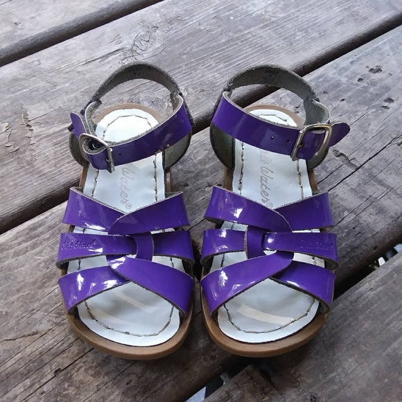 Saltwater Sandals Original Shiny Purple